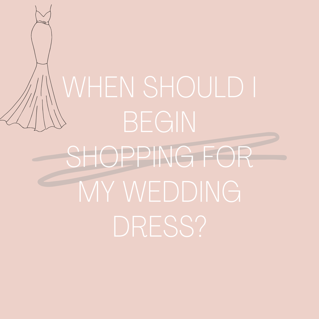When Should I Begin Shopping For My Wedding Dress?. Desktop Image