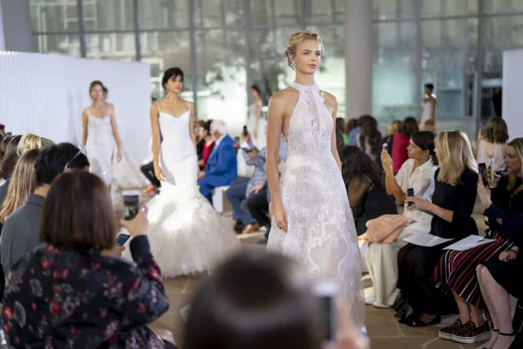 Ines Di Santo On The Runway of New York Bridal Fashion Week. Desktop Image